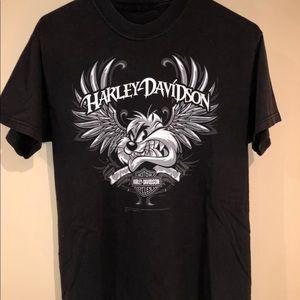 Tasmanian Devil Harley-Davidson T shirt